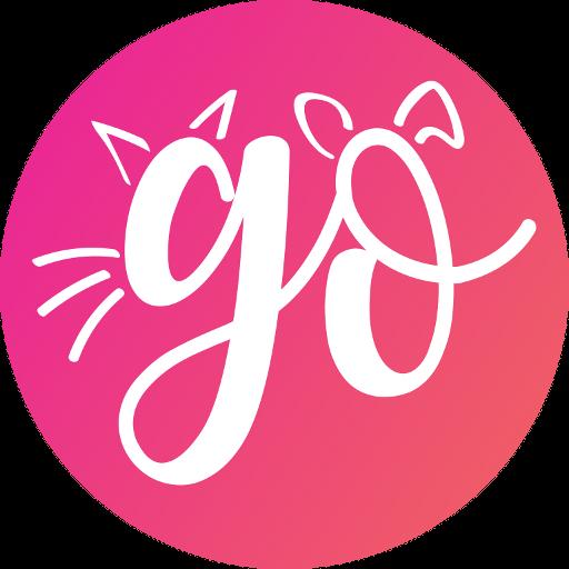 GoApp.pet - Pet community for pet lovers أيقونة