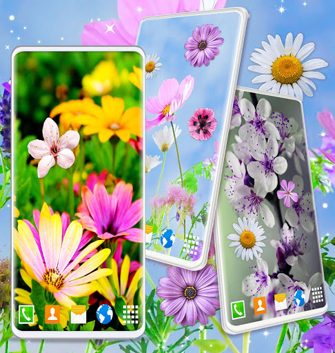 Spring Flowers Live Wallpaper 🌻 Summer Wallpapers скриншот 6