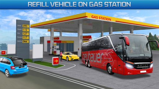 Gas Station Bus Driving Games - New Games 2020 screenshot 1
