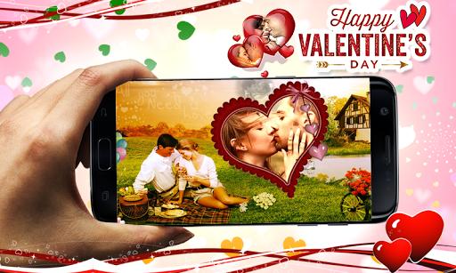 Valentine Photo Frames 2019 2 تصوير الشاشة