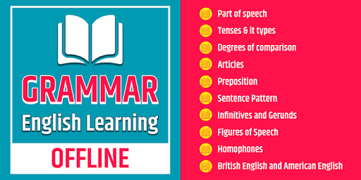 English Grammar Learning Free Offline Grammar Book 1 تصوير الشاشة