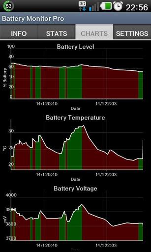 Battery Monitor Widget 4 تصوير الشاشة