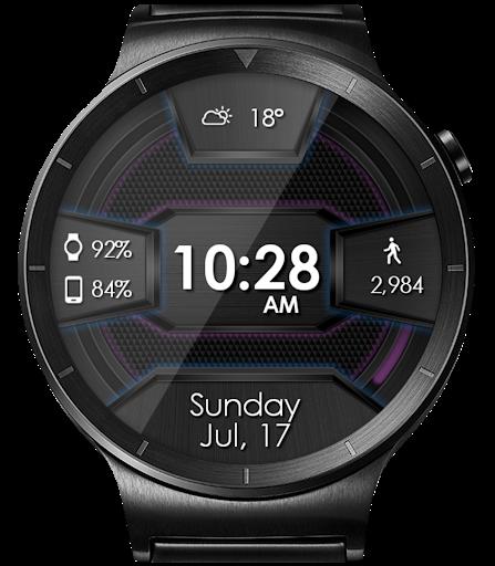 Daring Carbon HD WatchFace Widget Live Wallpaper 12 تصوير الشاشة
