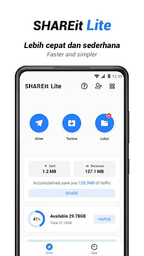 SHAREit Lite - Share & File Transfer App, Share it screenshot 1