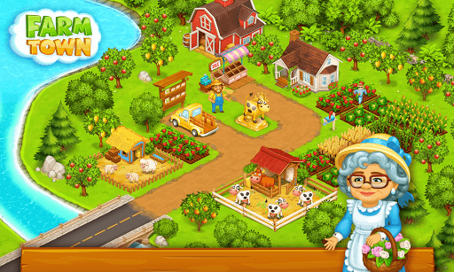 Farm Town: Happy farming Day & food farm game City screenshot 5