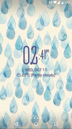 Digital Clock Widget Xperia screenshot 10
