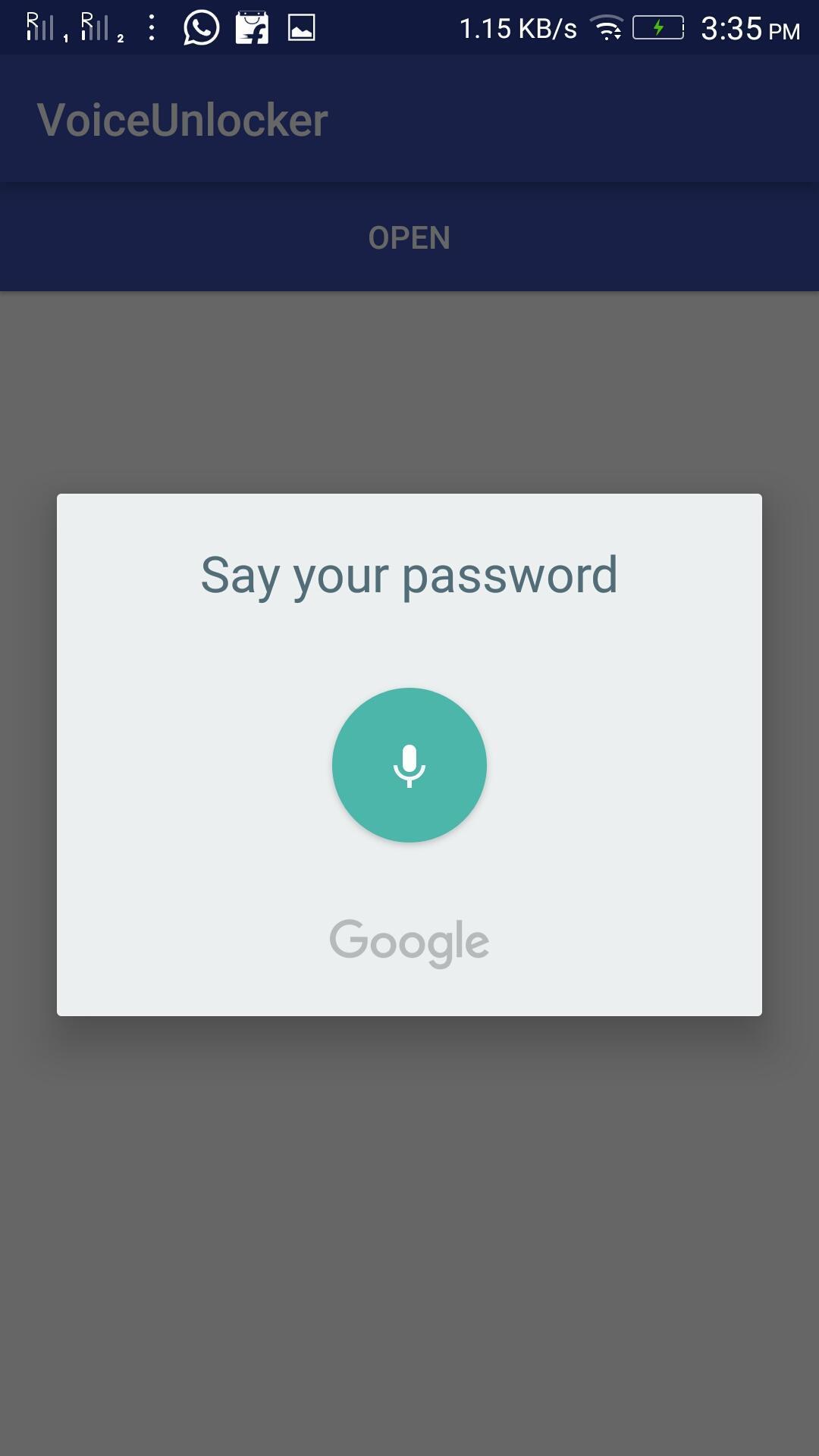 Voice Unlocker Lock Screen screenshot 3