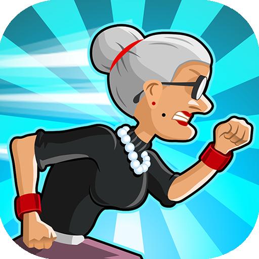 Angry Gran Run - Running Game أيقونة