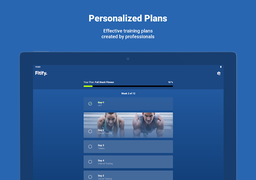 Fitify: Workout Routines & Training Plans screenshot 14