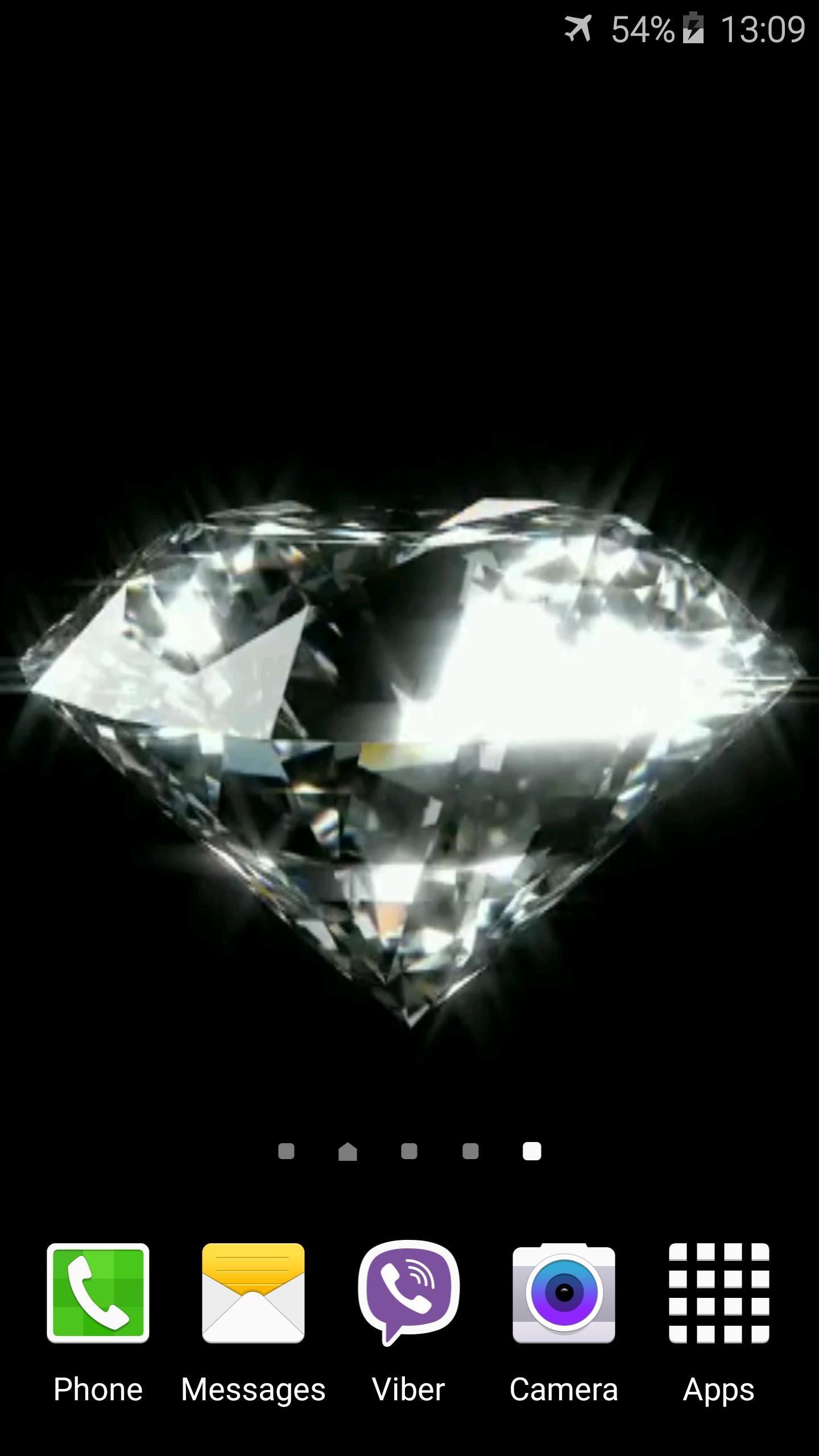 Diamond Video Live Wallpaper 4 تصوير الشاشة