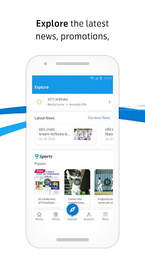 MyGP – Offers, Recharge, Live TV, FlexiPlan 2 تصوير الشاشة