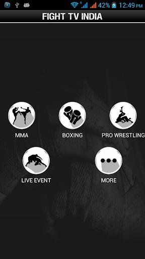 Fight TV India, 3 تصوير الشاشة