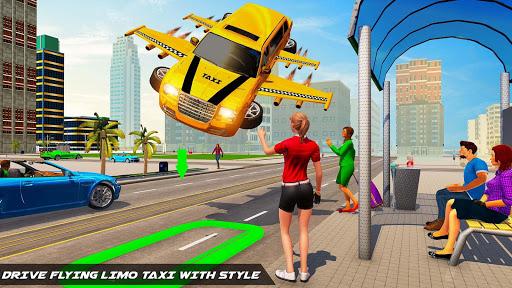 Big City Limo Car Driving Simulator : Taxi Driving 2 تصوير الشاشة