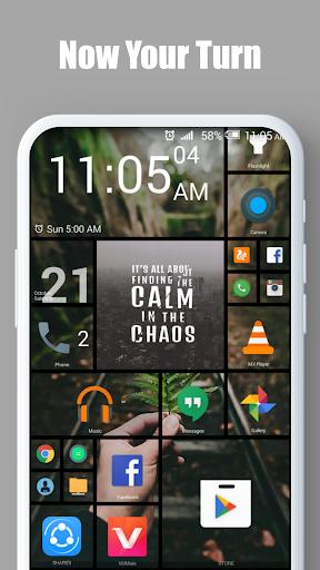 Square Home - Launcher : Windows style 8 تصوير الشاشة