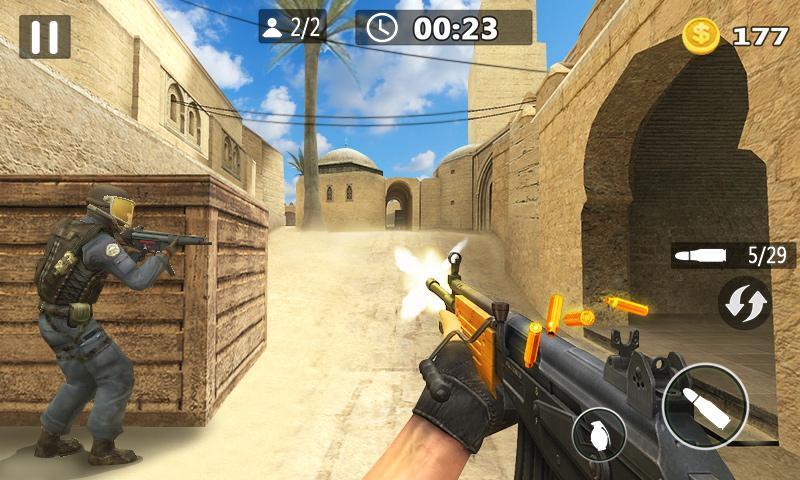 Critical Strike Shoot Battleground 1 تصوير الشاشة