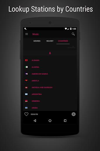 Radioverse - Internet Radio screenshot 5
