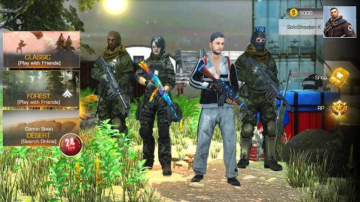 PVP Shooting Battle 2020 Online and Offline game. स्क्रीनशॉट 1