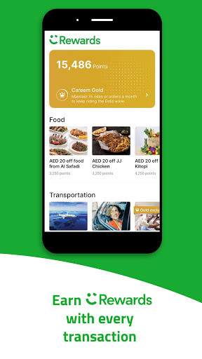 Careem - Rides, Food, Shops, Delivery & Payments screenshot 7