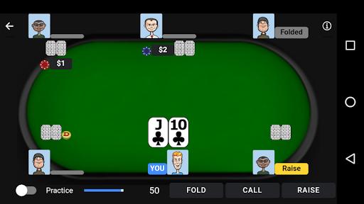 Poker Trainer - Poker Training Exercises 2 تصوير الشاشة