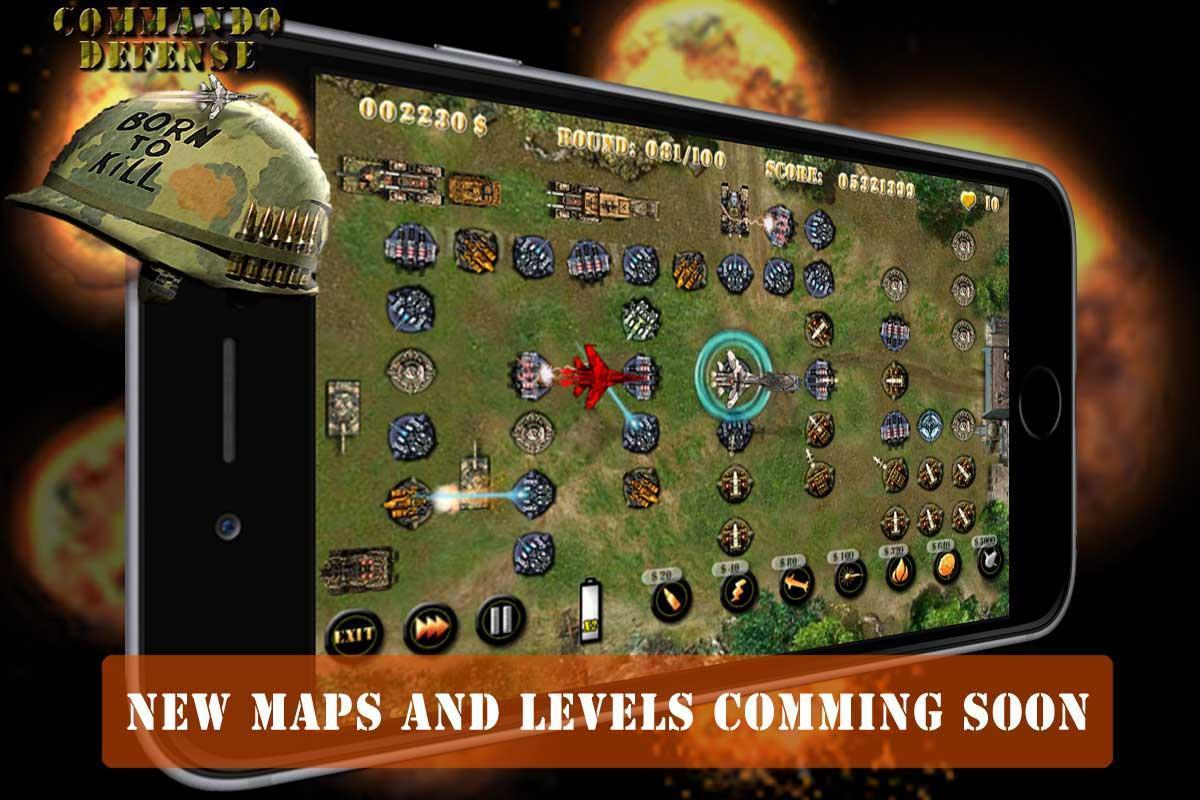Commando Tower Defense screenshot 4