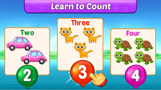 Math Kids - Add, Subtract, Count, and Learn 4 تصوير الشاشة