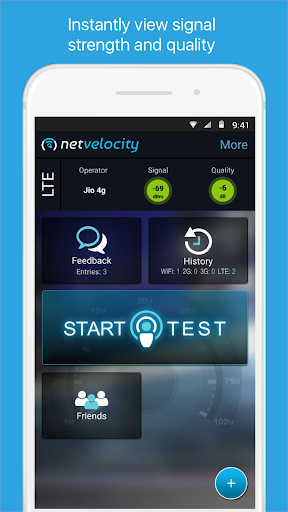 NetVelocity screenshot 1