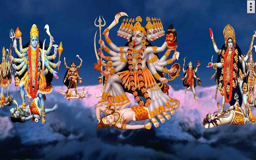 4D Maa Kali Live Wallpaper 9 تصوير الشاشة