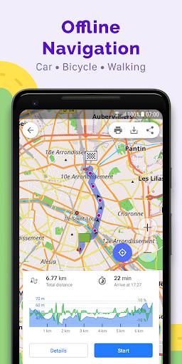 OsmAnd — Offline Maps, Travel & Navigation 2 تصوير الشاشة