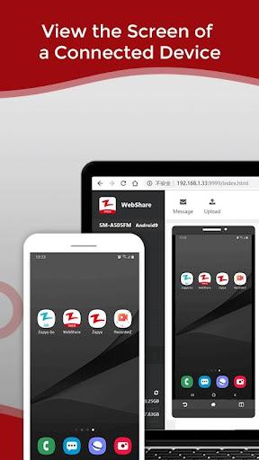 Zapya WebShare - File Sharing in Web Browser screenshot 5