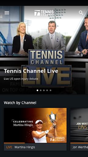Tennis Channel 1 تصوير الشاشة
