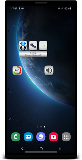 Bluetooth Music  Widget Battery TWS Pods FREE 1 تصوير الشاشة