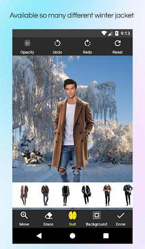 Men Winter Jacket Suit screenshot 2