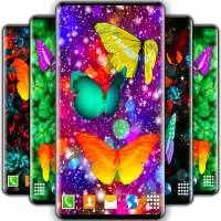 Butterflies Live Wallpaper 🦋 Neon 4K Wallpapers on APKTom