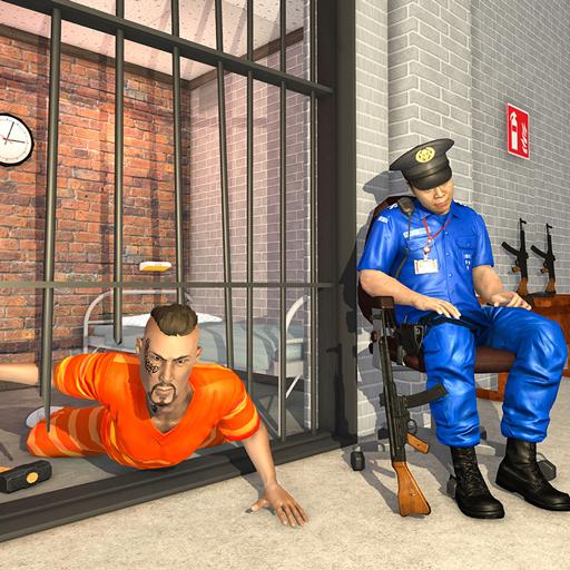 Grand US Police Prison Escape Game icon