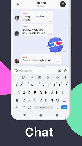 تمتم - تطبيق مراسلة لمكالمات الفيديو والدردشات 3 تصوير الشاشة
