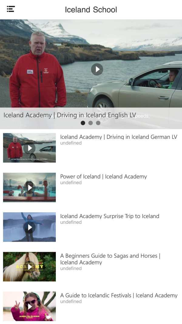 Travel Iceland Guide screenshot 4