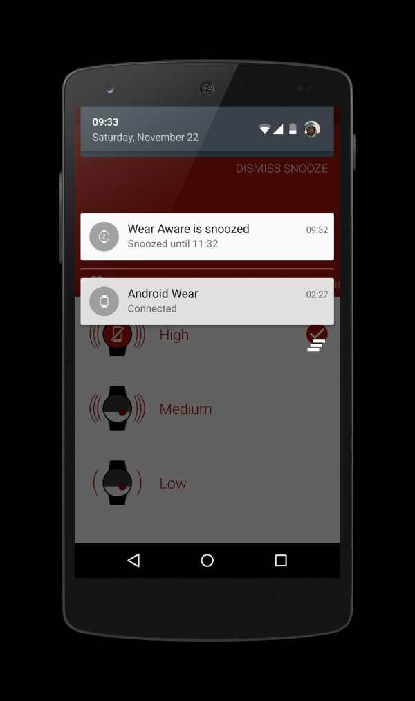 Wear Aware - Phone Finder screenshot 4