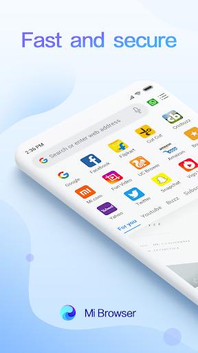 Mi Browser Pro - Video Download, Free, Fast&Secure screenshot 1