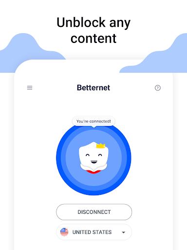 VPN Free - Betternet Hotspot VPN & Private Browser screenshot 6