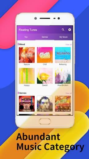Floating Tunes-Free Music Video Player screenshot 3