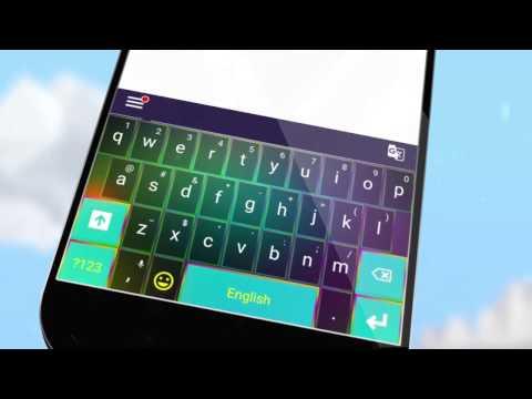 2020 Keyboard Color Theme 1 تصوير الشاشة