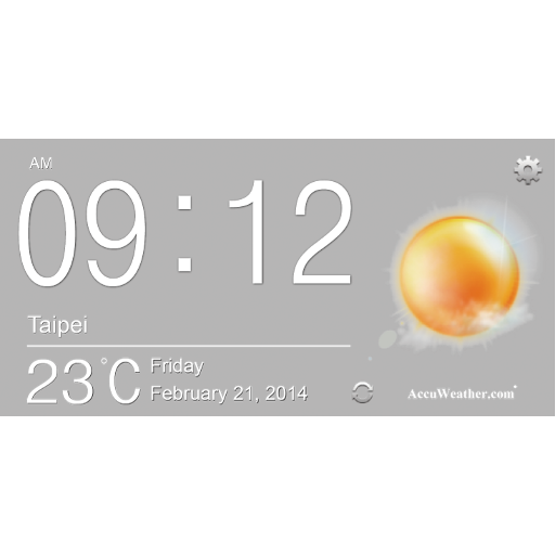 Acer Life Digital Clock 2.2 icon