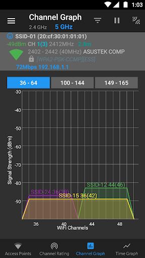 WiFi Analyzer (open-source) screenshot 5