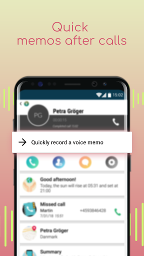 Voice Recorder with Caller ID screenshot 4