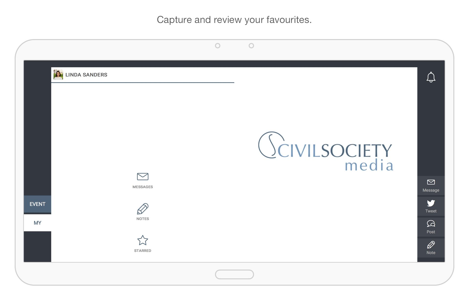 Civil Society Media Events screenshot 9