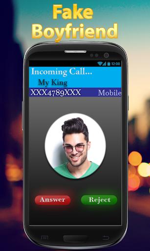 Fake boyfriend is calling - Prank 4 تصوير الشاشة