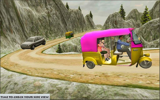Mountain Auto Tuk Tuk Rickshaw : New Games 2020 screenshot 1