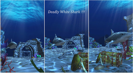 Live Wallpaper - 3D Ocean : World Under The Sea screenshot 4