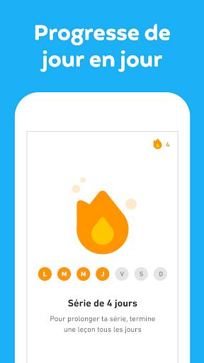 Duolingo - Apprendre une langue gratuitement screenshot 6