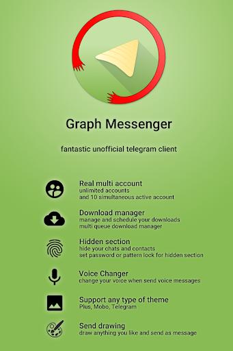 Graph Messenger screenshot 1